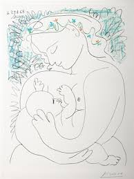 woman and child by pablo picasso on artnet