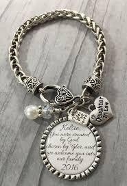 wedding bracelet gift images Daughter in law bracelet future daughter in law gift for bride jpg