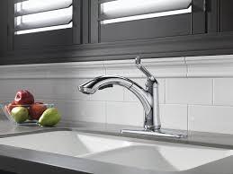 delta 4353 dst linden single handle pull out kitchen faucet