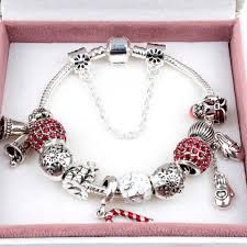 charm bracelet silver charms images 2017 newest popular charm bracelets style of christmas bell santa jpg
