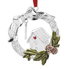 Lenox Christmas Ornaments 2014 by Bless This Home Silver Ornament 2016 Lenox Ornaments