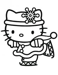 hello kitty coloring pages christmasfree coloring pages for kids