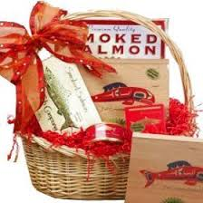 food gift baskets for delivery smoked salmon seafood assortment gourmet food