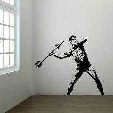 large banksy olympics 2012 bedroom wall art sticker mural transfer large banksy olympics 2012 bedroom wall art sticker mural transfer poster decal in wall stickers from home garden on aliexpress com alibaba group