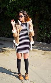Black And White Striped Bodycon Dress Horizontal Striped Bodycon Dress Women U0027s Fashion