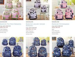 Free Shipping Pottery Barn Pottery Barn Free Shipping And 40 Discount Backpacks Lunch