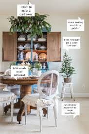 decorating a dining room seasons of home christmas dining room miss mustard seed