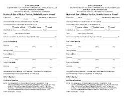 Bill Of Sale Car Sample by State Florida Bill Sale Motor Vehicle Form Uber Home Decor U2022 21000