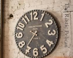 large wall clock etsy