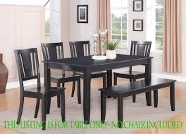 Black Kitchen Table Best Tables - Black kitchen table