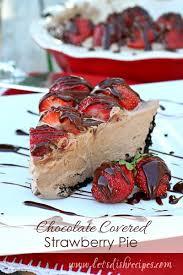 Chocolate Covered Strawberries Recipe Dishmaps Strawberry Chocolate Pie U2014 Recipes Hubs
