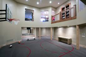 Best basketball court designs home gym contemporary with sports