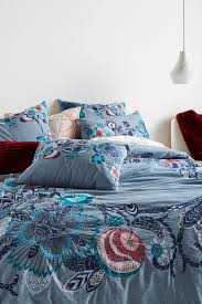 Duvet Cover Teal Blue Duvet Covers Boho U0026 Linen Duvet Covers Anthropologie