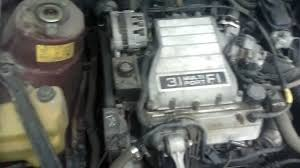 motor oldsmobile cutlass 3 1 1992 youtube
