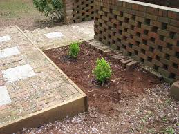 Slope For Paver Patio by Backyard Landscaping Ideas The Process Of Building A Patio