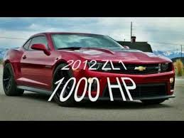 2012 camaro horsepower 2012 zl1 camaro 1000hp 850rwhp supercharger only