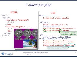 div background url cascading style sheets css ppt t礬l礬charger