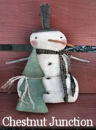 snowman tree snowman and tree epattern chestnut junction