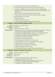 Quality Engineer Resume Sample Civil Engineer Resume Sample Resume For Your Job Application