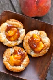 cinnamon peachy puff pastry cups recipe food sweets u0026 desserts