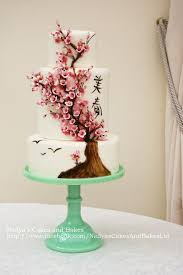 Cherry Blossom Wedding Let Creativity Bloom 5 Beautiful Cherry Blossom Wedding Cakes