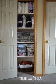 my very organized linen closet