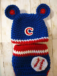 Infant Atlanta Braves Clothes Chicago Cubs Baby Hat And Diaper Cover Newborn Chicago Cubs
