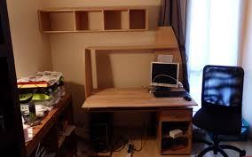 bureau customisé customiser un bureau standard le du bois