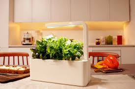 diy indoor herb garden light home outdoor decoration this smart herb garden lets you click grow freshome com collect this idea smart herb garden click and grow