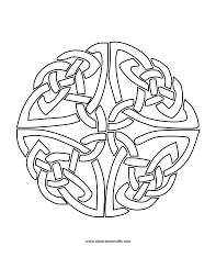 celtic coloring pages 1000 ideas about celtic mandala on