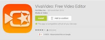 vivavideo apk vivavideo free editor apk version android