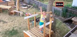 Backyard Ninja Warrior Course American Ninja Warrior 5 Year Old Lylah Maccall Thepostgame Com