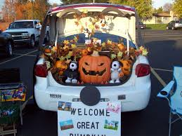 trunk or treat decorating ideas for church and all halloween needs