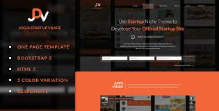 jdv responsive parallax one page html5 template by onkuro