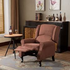 cloud mountain microfiber massage recliner sofa living room chair