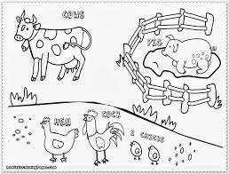 farm animal coloring pages farm animal coloring pages free