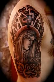 allstar ink tattoos religious half sleeve