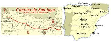 Camino De Santiago Map El Pequeño Peregrino April 2013