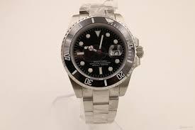 luxury brand watches men 40mm 116610 date black dial ceramic bezel