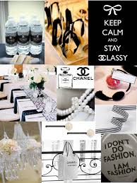 Chanel Party Decorations Southern Blue Celebrations Coco Chanel Party Ideas