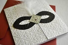 Invitations For Weddings Black White And Silver Masquerade Invitation For Wedding