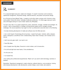 summary for resume examples examples of a summary on a resume