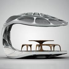 dining pavilion by zaha hadid and patrik schumacher at design