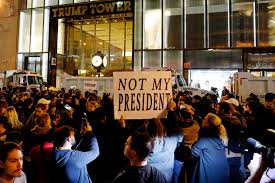 Trump Tower Nyc by Anti Trump Protesters Take To The Streets Across America New