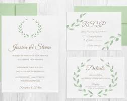 Wedding Invitation Diy Wedding Invitation Kits Ca