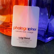 Translucent Plastic Business Cards Collection Of Long Lasting Transparent Business Cards Blueblots Com