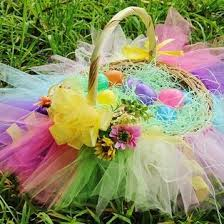 Easter Baskets Decorated With Tulle by 106 Best Images About Easter On Pinterest