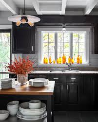 black cabinets kitchen ideas 9 earthy kitchen ideas to warm your town country