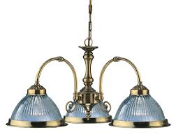 Brass Ceiling Light Fittings by Searchlight 9343 3 American Diner Antique Brass 3 Light Fitting