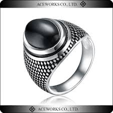 rings for men in pakistan rn6605 aceworks top fashion antique silver turkish unique black